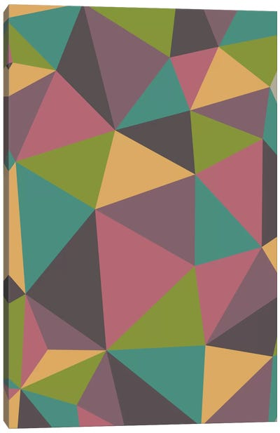 Triangles Canvas Art Print