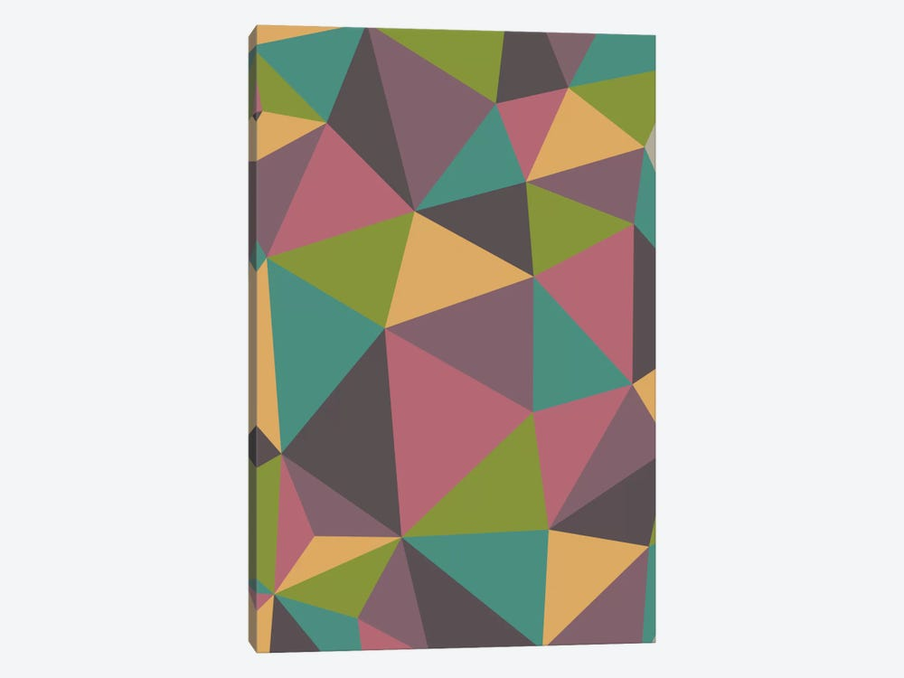 Triangles by Valentina Harper 1-piece Canvas Art