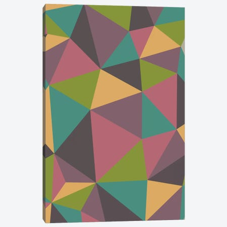 Triangles Canvas Print #VAL400} by Valentina Harper Art Print