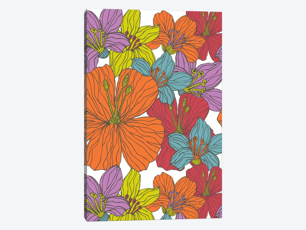 Tropical Flowers by Valentina Harper 1-piece Art Print