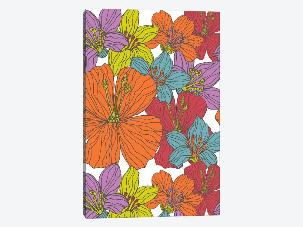 Tropical Flowers by Valentina Harper 1-piece Art Print