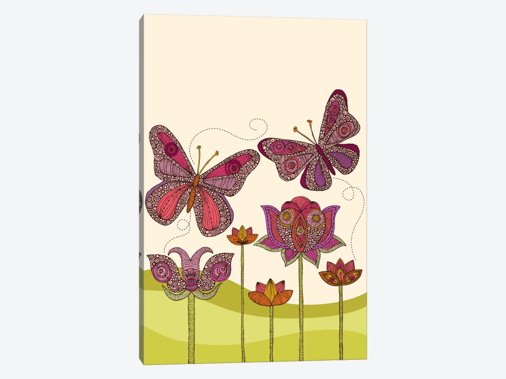 Butterflies by Valentina Harper 1-piece Canvas Wall Art