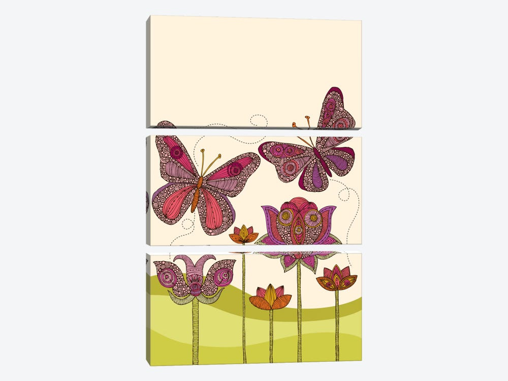 Butterflies by Valentina Harper 3-piece Canvas Artwork