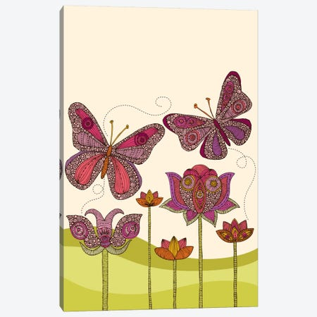 Butterflies Canvas Print #VAL41} by Valentina Harper Canvas Art