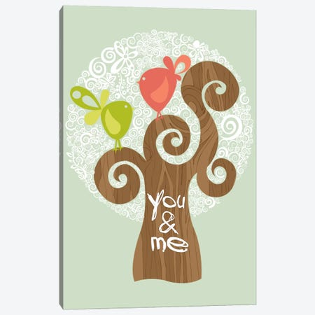 You And Me I Canvas Print #VAL425} by Valentina Harper Canvas Art