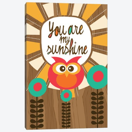 You Are My Sunshine III Canvas Print #VAL430} by Valentina Harper Canvas Artwork