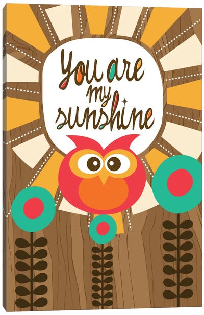 You Are My Sunshine III Canvas Print #VAL430