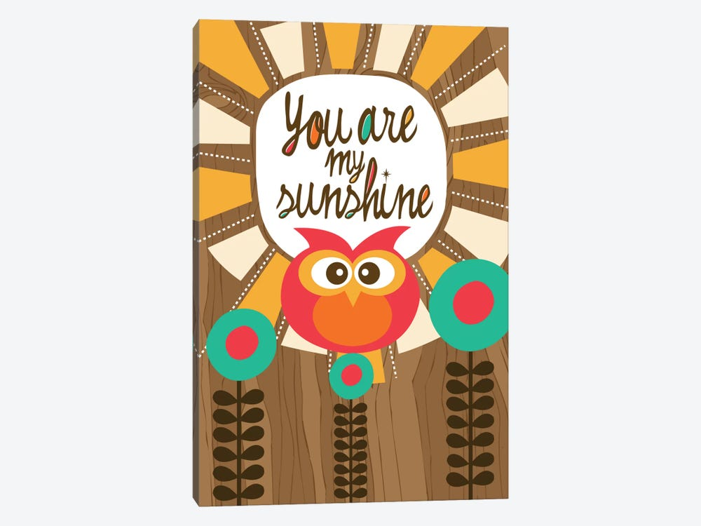 You Are My Sunshine III by Valentina Harper 1-piece Canvas Art Print