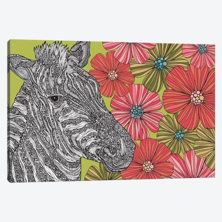 Zebra Puzzle Canvas Print #VAL433} by Valentina Harper Canvas Art