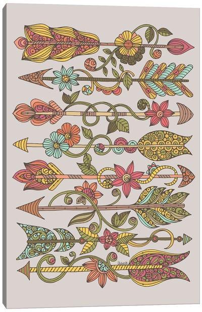 Arrows Canvas Art Print