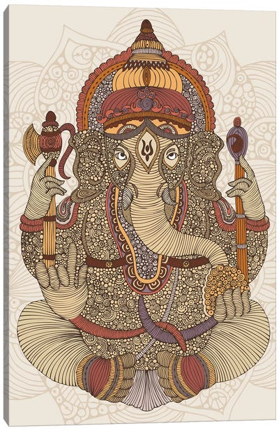 Ganesha Canvas Art Print
