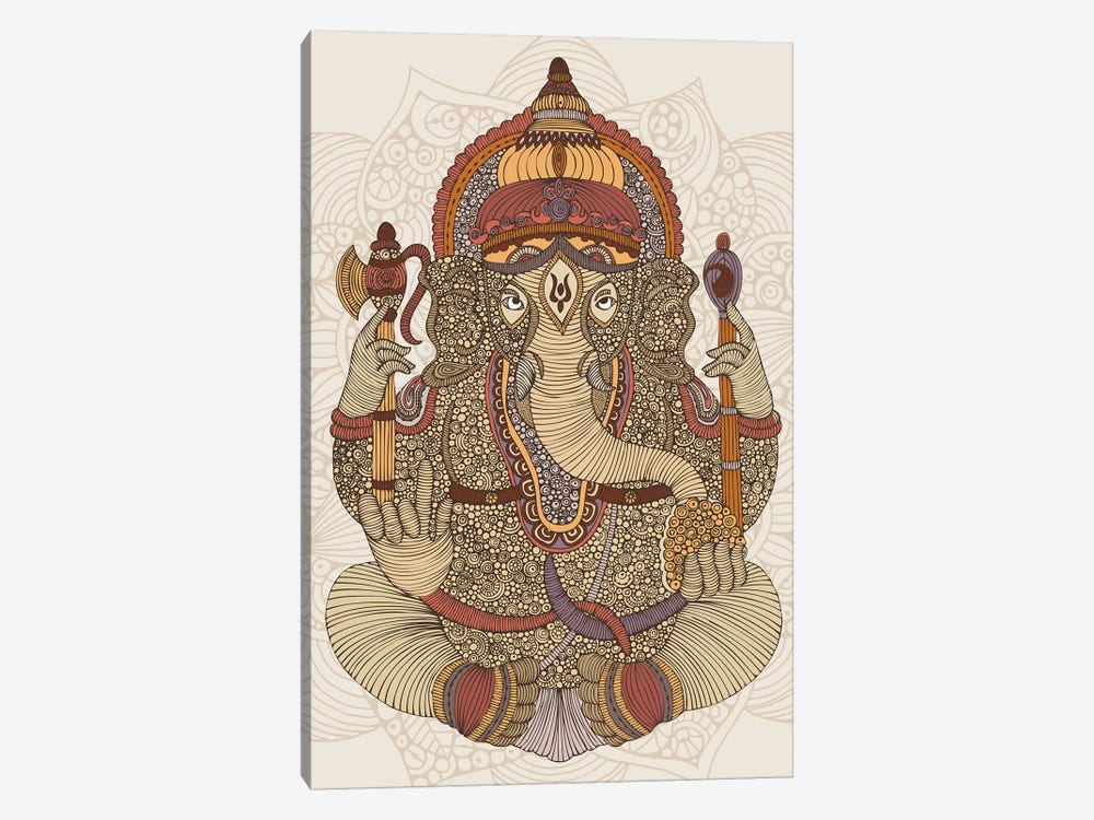 Ganesha by Valentina Harper 1-piece Canvas Art
