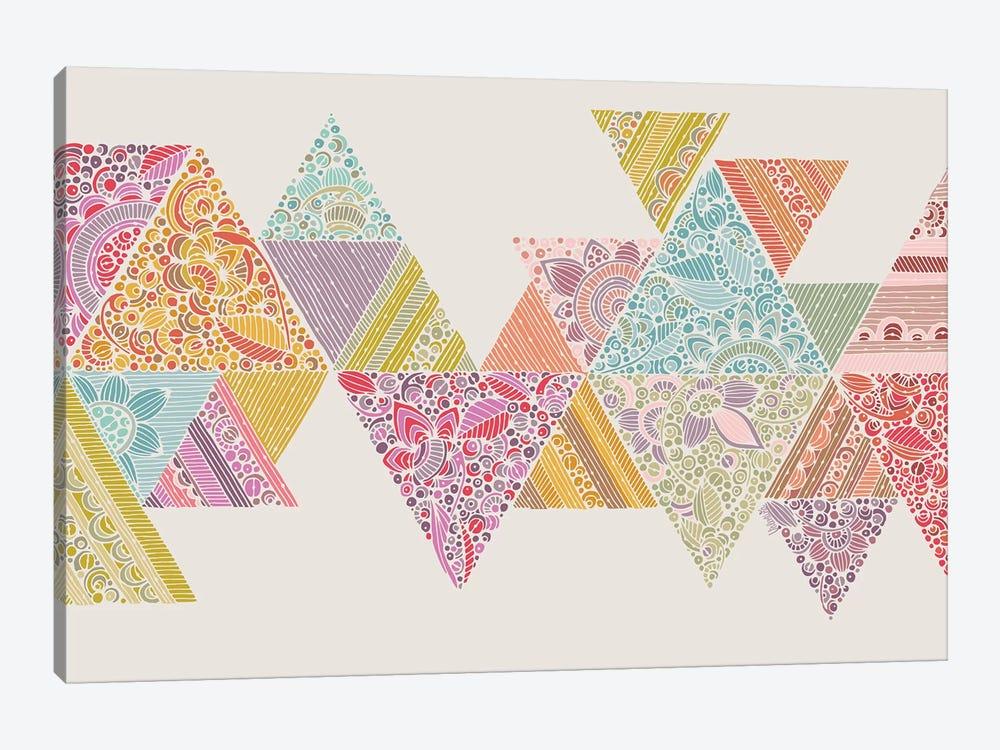 Geo Road by Valentina Harper 1-piece Canvas Art
