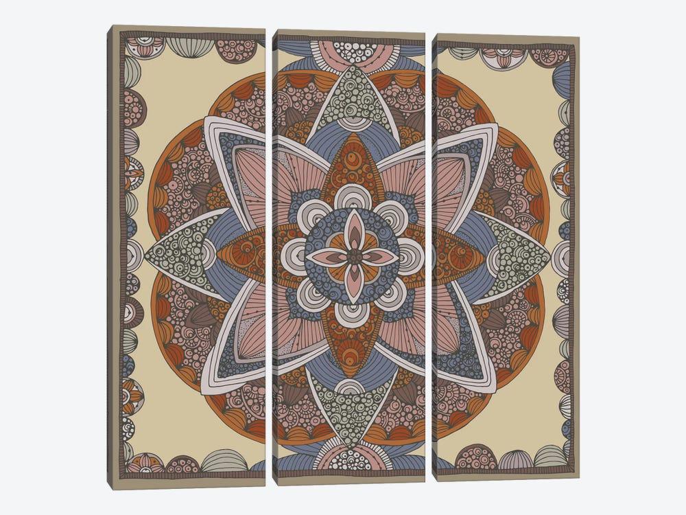 Indigo by Valentina Harper 3-piece Canvas Art Print