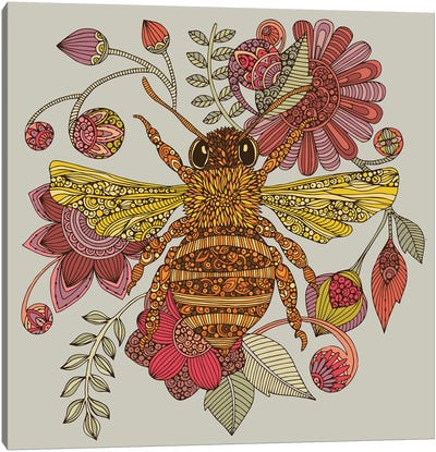 The Bee Canvas Art Print
