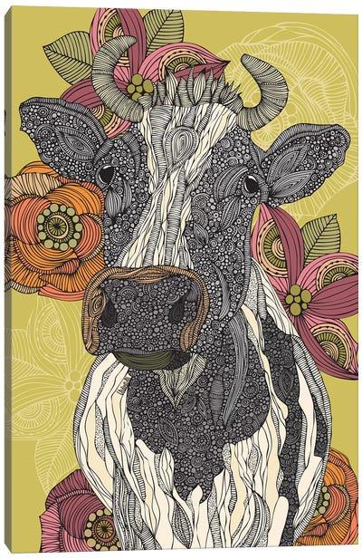 The Cow Canvas Art Print