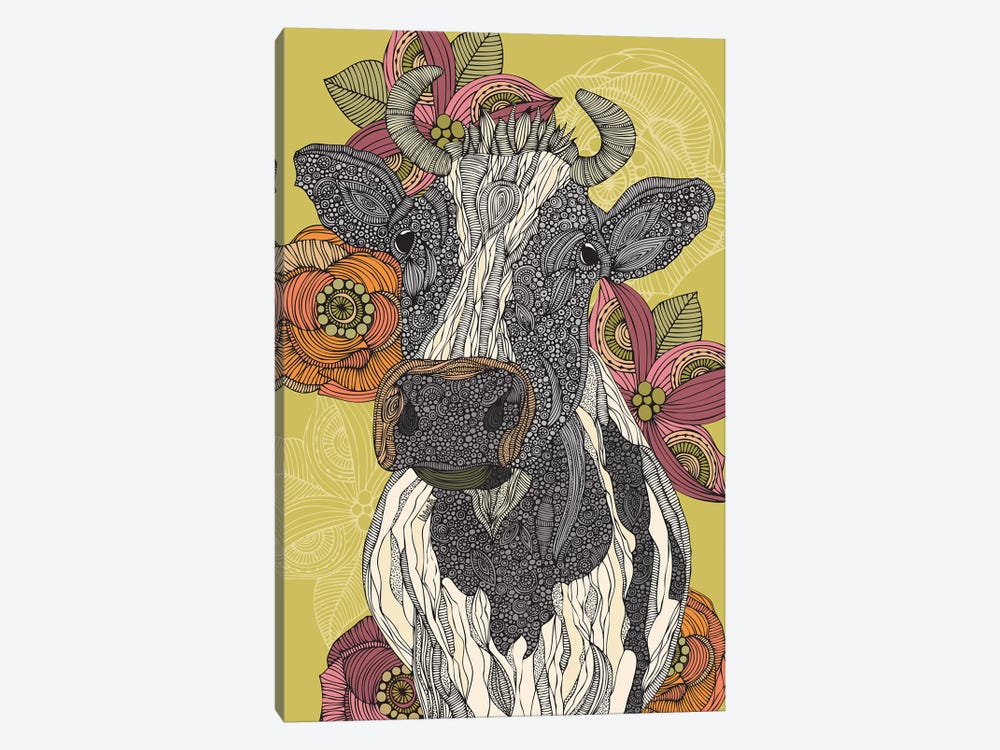 The Cow by Valentina Harper 1-piece Canvas Art Print