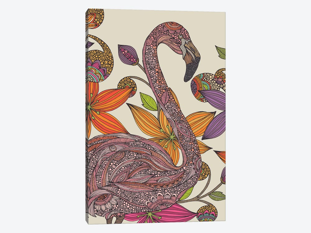 The Flamingo II 1-piece Art Print