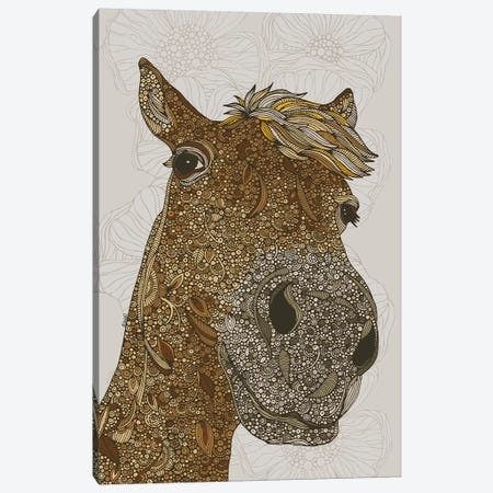 The Horse Canvas Print #VAL459} by Valentina Harper Canvas Art