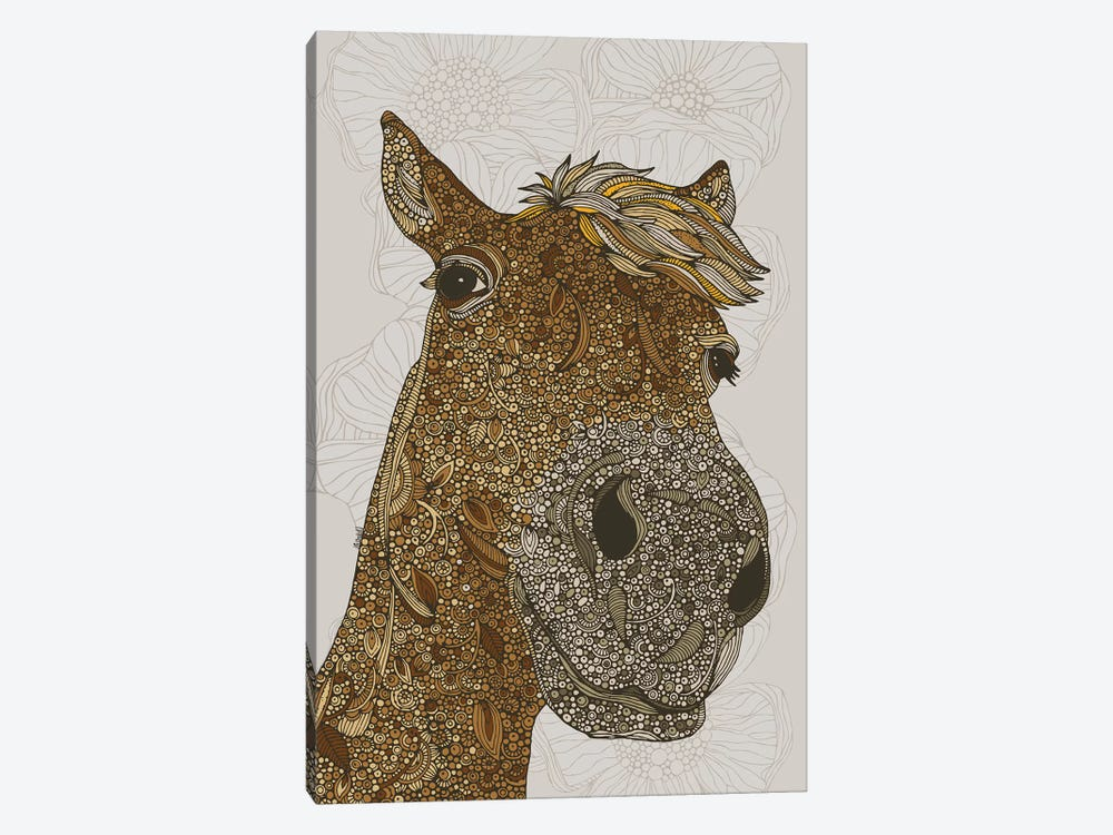 The Horse by Valentina Harper 1-piece Canvas Artwork