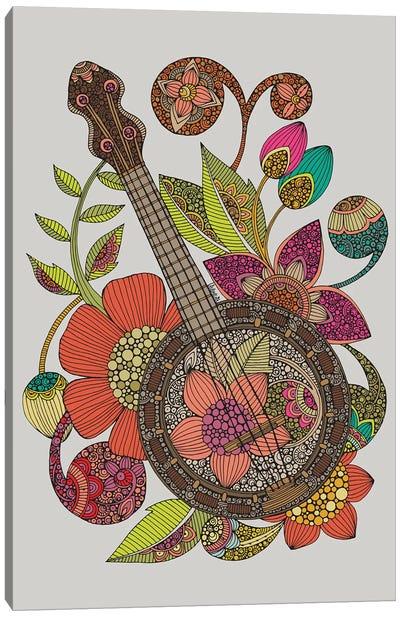 Ever Banjo Canvas Art Print