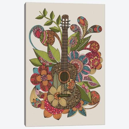 Ever Guitar Canvas Print #VAL465} by Valentina Harper Canvas Artwork