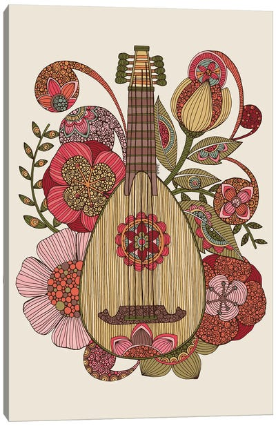Ever Mandolin Canvas Art Print