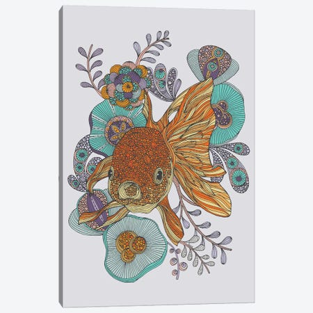 Little Fish Canvas Print #VAL467} by Valentina Harper Canvas Artwork
