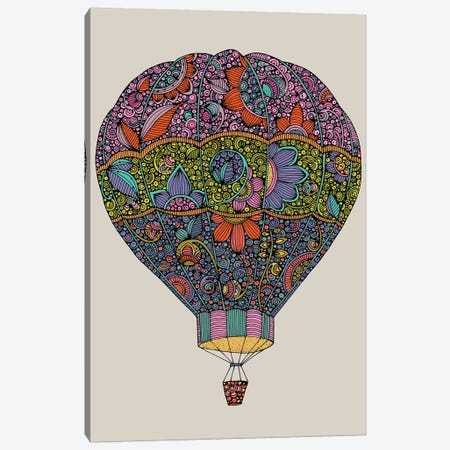 Air Ballon Canvas Print #VAL471} by Valentina Harper Canvas Artwork