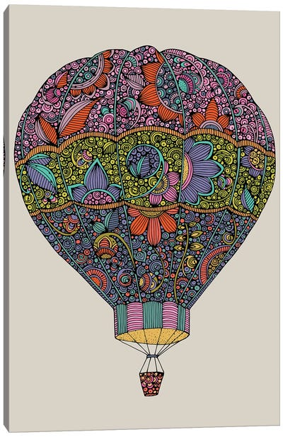 Air Ballon Canvas Art Print