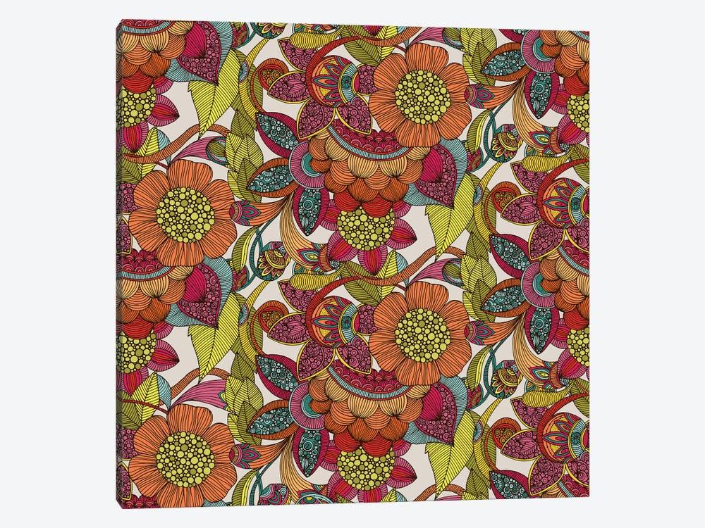 Arabella Pattern by Valentina Harper 1-piece Canvas Print