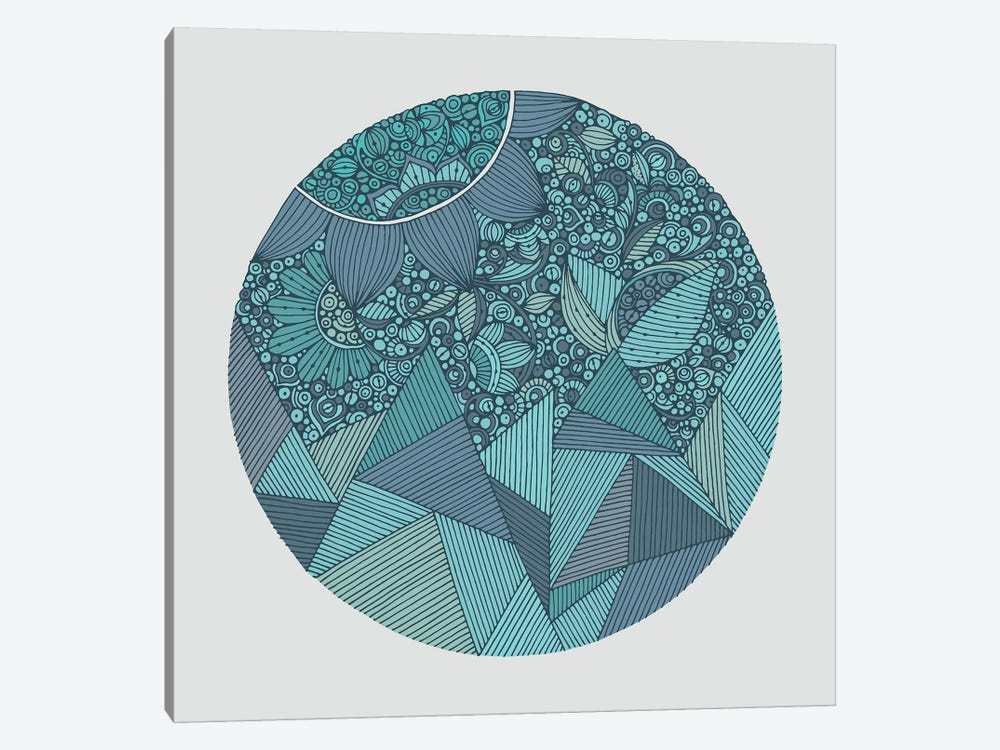 Blue Mountain by Valentina Harper 1-piece Canvas Print