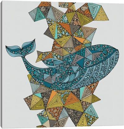 Blue Whale Canvas Art Print