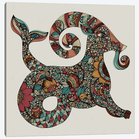 Capricorn Canvas Print #VAL481} by Valentina Harper Canvas Art Print