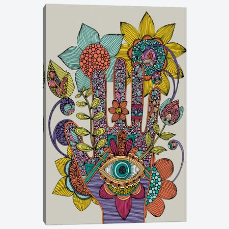 Hamsa 3-Piece Canvas #VAL482} by Valentina Harper Art Print