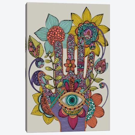 Hamsa Canvas Print #VAL482} by Valentina Harper Art Print