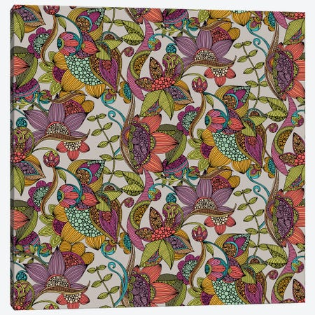 Kass Pattern Canvas Print #VAL484} by Valentina Harper Canvas Artwork