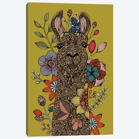 Llama I Canvas Print #VAL489} by Valentina Harper Canvas Art Print
