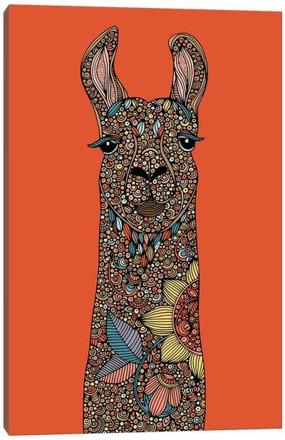 Llama II Canvas Art Print