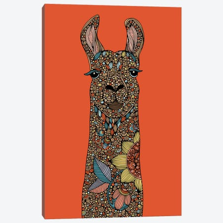 Llama II Canvas Print #VAL490} by Valentina Harper Canvas Artwork