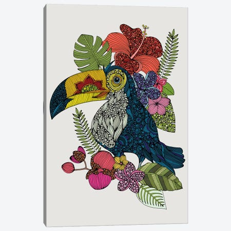 Tucan Canvas Print #VAL496} by Valentina Harper Canvas Print