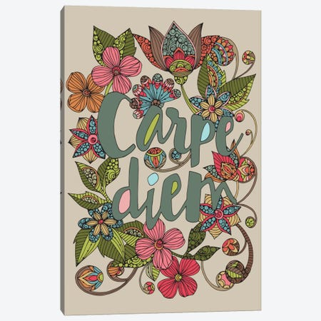 Carpe Diem II Canvas Print #VAL55} by Valentina Harper Canvas Artwork
