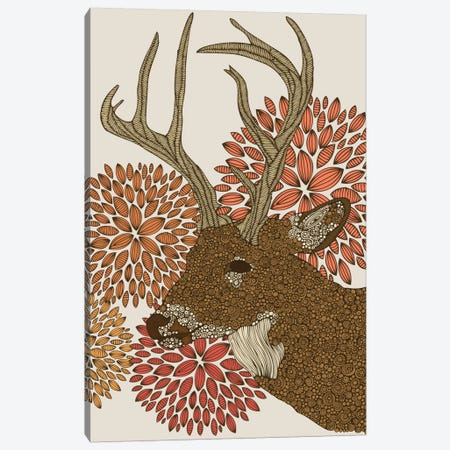 Dear Deer II Canvas Print #VAL73} by Valentina Harper Art Print