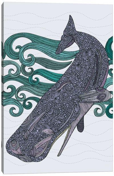 Deep Violet Canvas Art Print