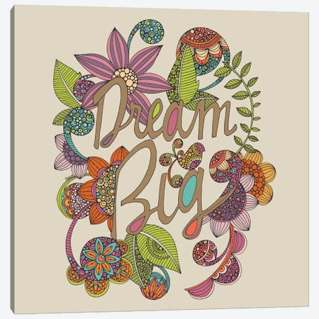 Dream Big Canvas Print #VAL82} by Valentina Harper Canvas Wall Art