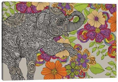 Elephant Puzzle Canvas Art Print
