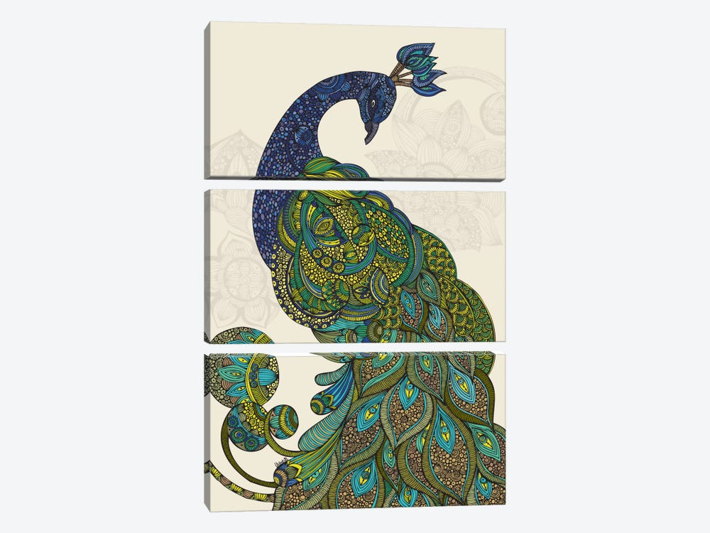 Eva by Valentina Harper 3-piece Canvas Art Print