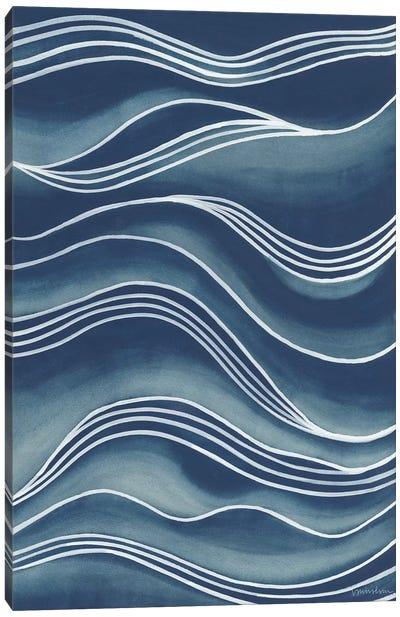 Wind & Waves I Canvas Art Print
