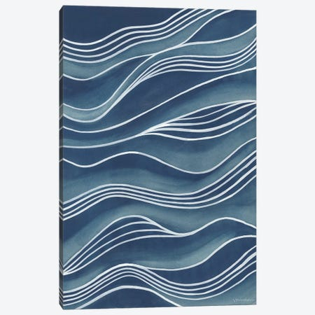 Wind & Waves II Canvas Print #VAN13} by Vanna Lam Art Print