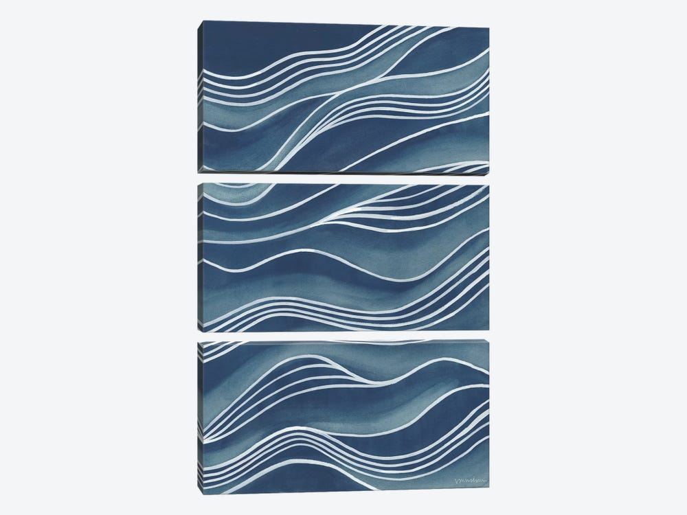 Wind & Waves II by Vanna Lam 3-piece Canvas Art